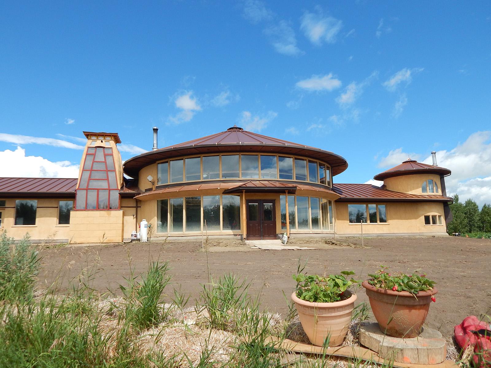 Solar Dragon House - Exterior