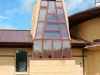 Solar Dragon House - Solar chimney