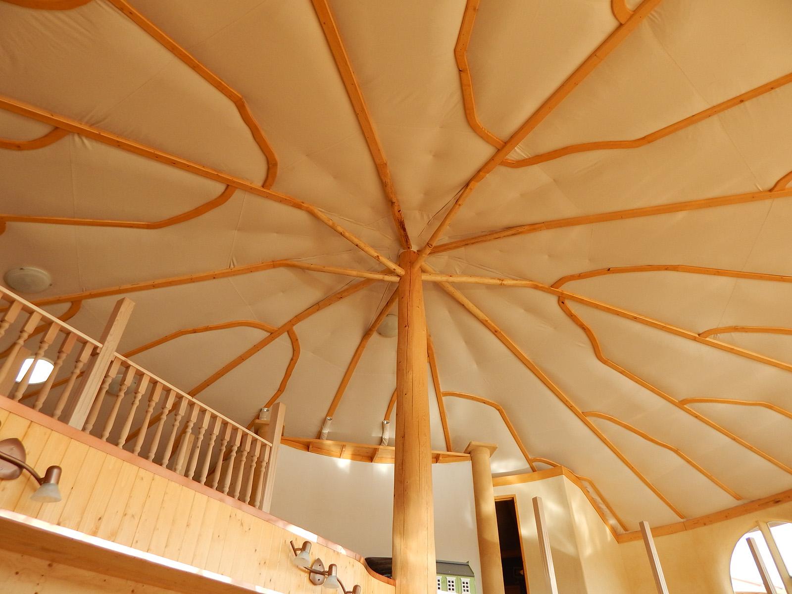 Solar Dragon House - Ceiling