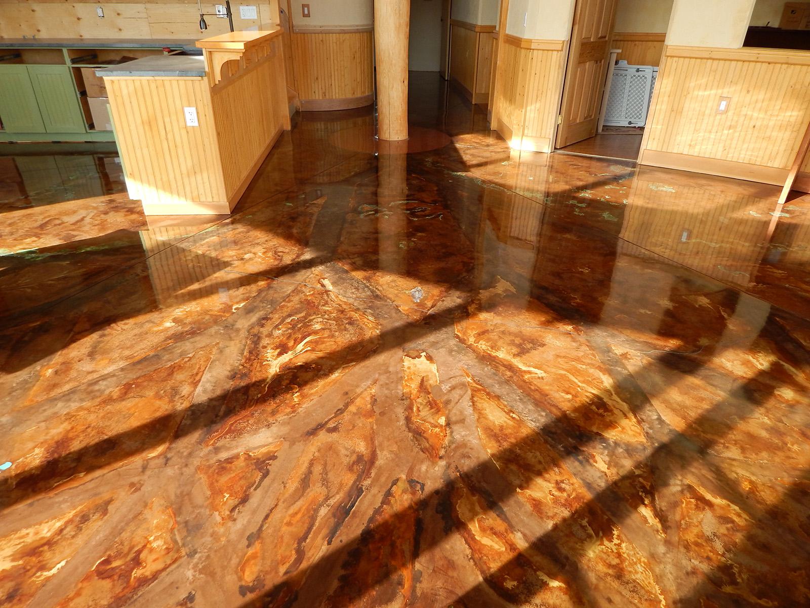 Solar Dragon House - Floor